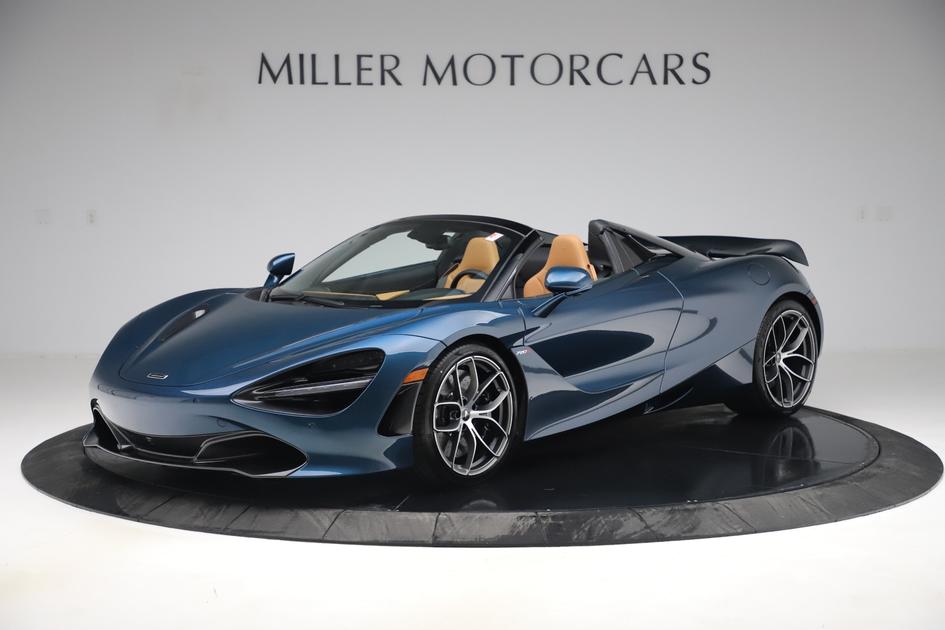 New 2020 McLaren 720S Spider Luxury for sale $380,835 at Bentley Greenwich in Greenwich CT 06830 1