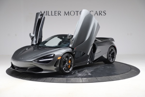 New 2020 McLaren 720S Spider Convertible for sale $332,570 at Bentley Greenwich in Greenwich CT 06830 10
