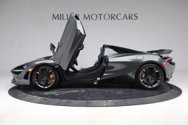 New 2020 McLaren 720S Spider Convertible for sale $332,570 at Bentley Greenwich in Greenwich CT 06830 11