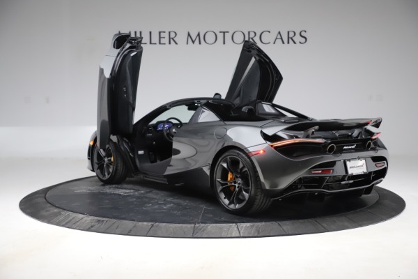 New 2020 McLaren 720S Spider Convertible for sale $332,570 at Bentley Greenwich in Greenwich CT 06830 12