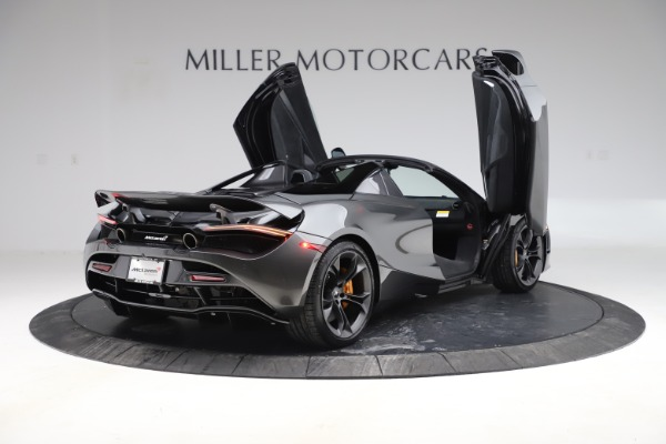 New 2020 McLaren 720S Spider Convertible for sale $332,570 at Bentley Greenwich in Greenwich CT 06830 14