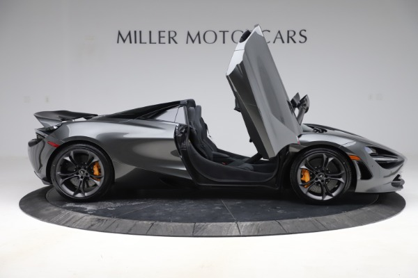 New 2020 McLaren 720S Spider Convertible for sale $332,570 at Bentley Greenwich in Greenwich CT 06830 15