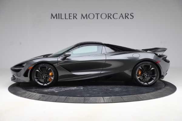 New 2020 McLaren 720S Spider Convertible for sale $332,570 at Bentley Greenwich in Greenwich CT 06830 19