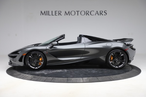 New 2020 McLaren 720S Spider Convertible for sale $332,570 at Bentley Greenwich in Greenwich CT 06830 2