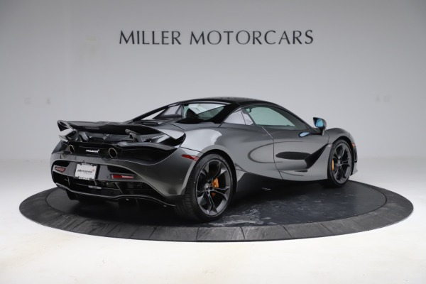 New 2020 McLaren 720S Spider Convertible for sale $332,570 at Bentley Greenwich in Greenwich CT 06830 22