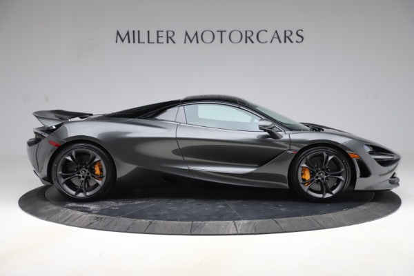 New 2020 McLaren 720S Spider Convertible for sale $332,570 at Bentley Greenwich in Greenwich CT 06830 23