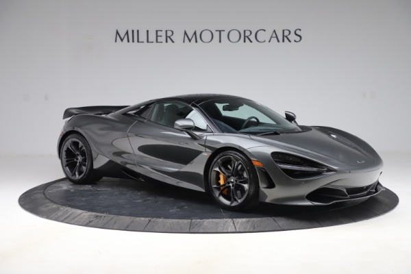 New 2020 McLaren 720S Spider Convertible for sale $332,570 at Bentley Greenwich in Greenwich CT 06830 24