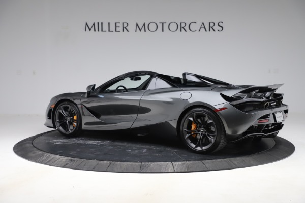 New 2020 McLaren 720S Spider Convertible for sale $332,570 at Bentley Greenwich in Greenwich CT 06830 3