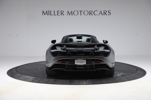 New 2020 McLaren 720S Spider Convertible for sale $332,570 at Bentley Greenwich in Greenwich CT 06830 4