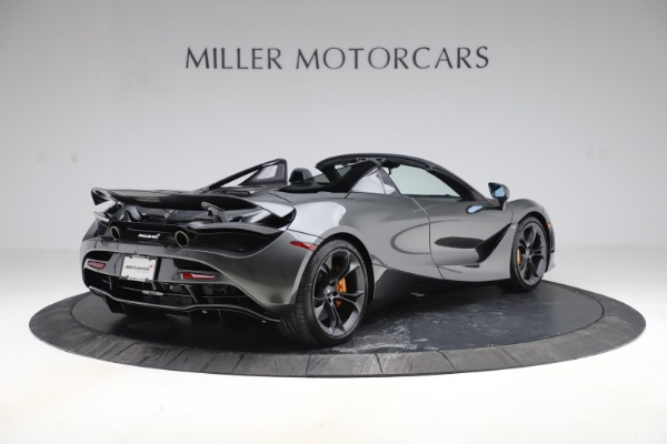 New 2020 McLaren 720S Spider Convertible for sale $332,570 at Bentley Greenwich in Greenwich CT 06830 5