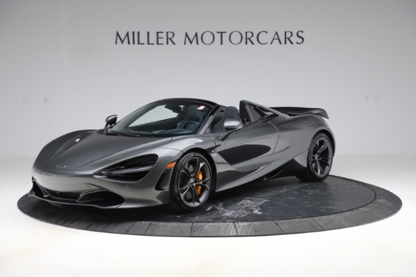 New 2020 McLaren 720S Spider Convertible for sale $332,570 at Bentley Greenwich in Greenwich CT 06830 1