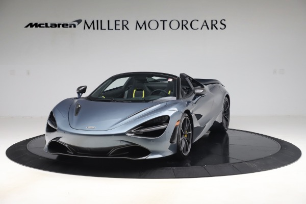 Used 2020 McLaren 720S Spider Convertible for sale Call for price at Bentley Greenwich in Greenwich CT 06830 2