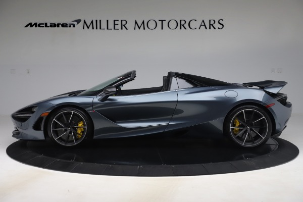 Used 2020 McLaren 720S Spider Convertible for sale Call for price at Bentley Greenwich in Greenwich CT 06830 3