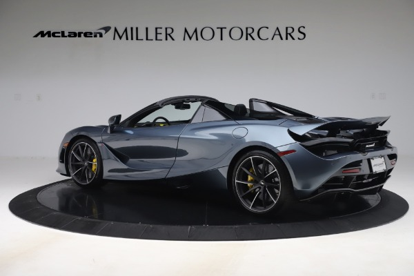 Used 2020 McLaren 720S Spider Convertible for sale Call for price at Bentley Greenwich in Greenwich CT 06830 4