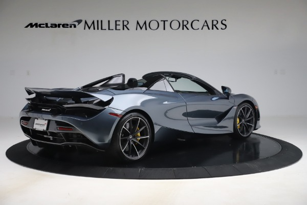 Used 2020 McLaren 720S Spider Convertible for sale Call for price at Bentley Greenwich in Greenwich CT 06830 8