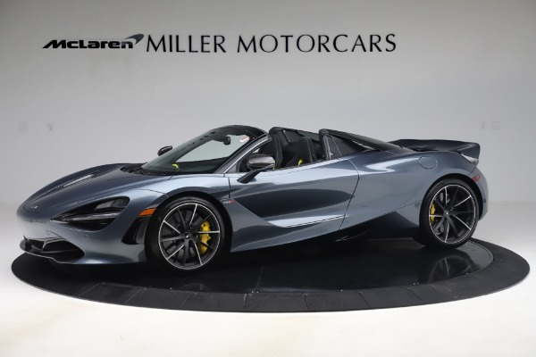 Used 2020 McLaren 720S Spider Convertible for sale Call for price at Bentley Greenwich in Greenwich CT 06830 1