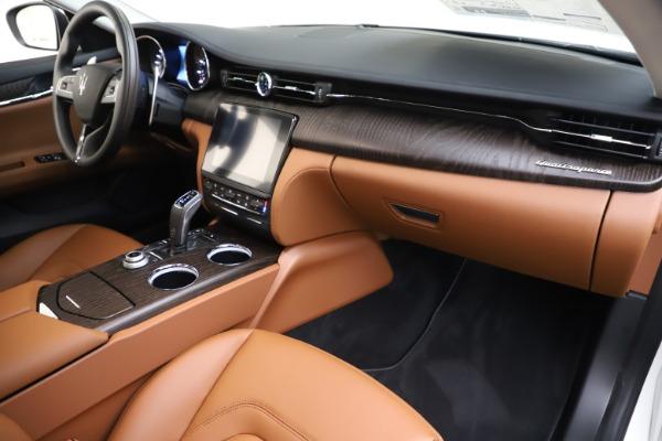 New 2019 Maserati Quattroporte S Q4 for sale $121,065 at Bentley Greenwich in Greenwich CT 06830 22
