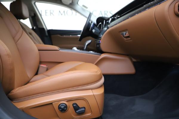 New 2019 Maserati Quattroporte S Q4 for sale $121,065 at Bentley Greenwich in Greenwich CT 06830 23