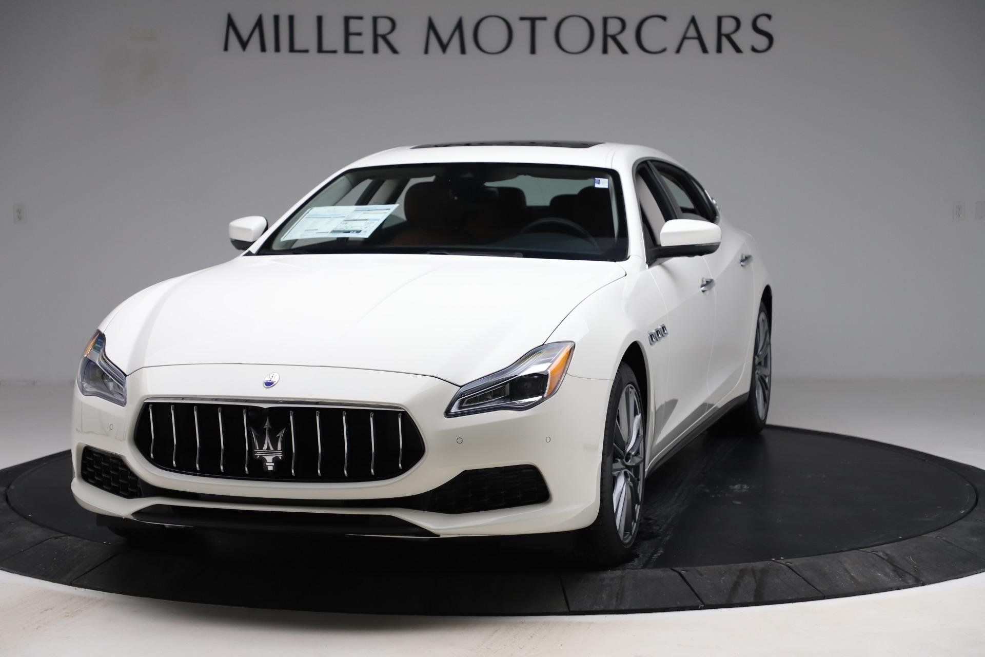 New 2019 Maserati Quattroporte S Q4 for sale $121,065 at Bentley Greenwich in Greenwich CT 06830 1