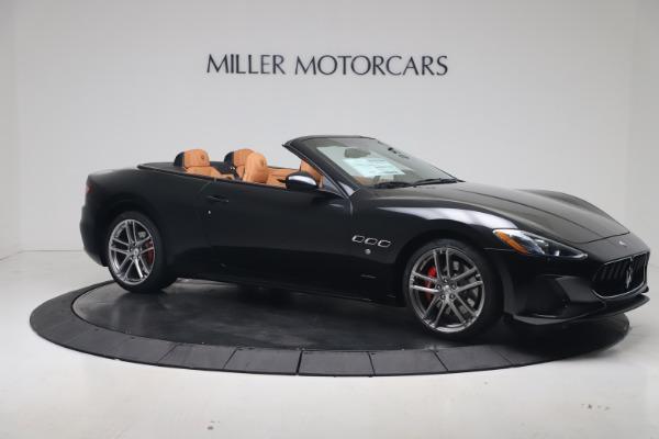 New 2019 Maserati GranTurismo Sport Convertible for sale $161,970 at Bentley Greenwich in Greenwich CT 06830 10