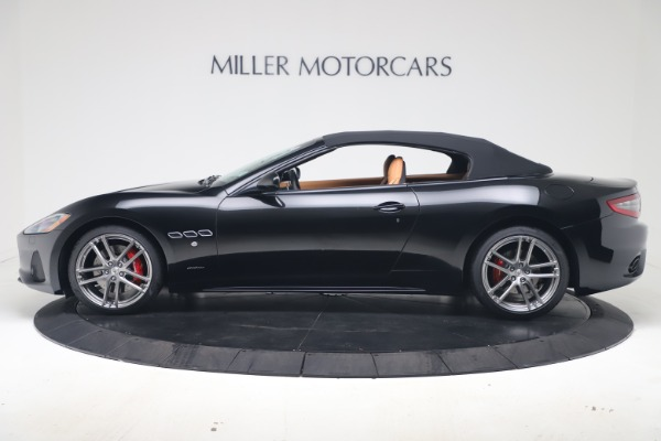New 2019 Maserati GranTurismo Sport Convertible for sale Sold at Bentley Greenwich in Greenwich CT 06830 14
