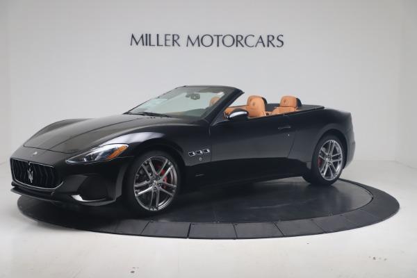 New 2019 Maserati GranTurismo Sport Convertible for sale Sold at Bentley Greenwich in Greenwich CT 06830 2