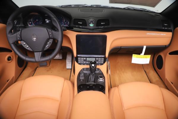 New 2019 Maserati GranTurismo Sport Convertible for sale $161,970 at Bentley Greenwich in Greenwich CT 06830 22