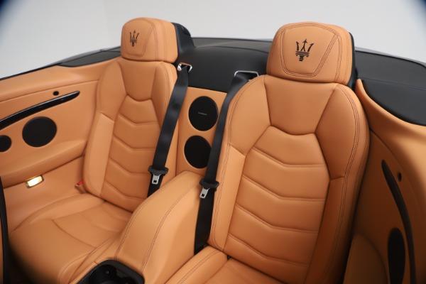New 2019 Maserati GranTurismo Sport Convertible for sale $161,970 at Bentley Greenwich in Greenwich CT 06830 24