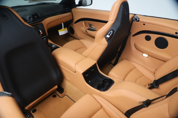 New 2019 Maserati GranTurismo Sport Convertible for sale $161,970 at Bentley Greenwich in Greenwich CT 06830 25