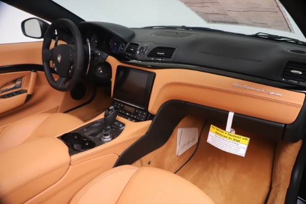 New 2019 Maserati GranTurismo Sport Convertible for sale $161,970 at Bentley Greenwich in Greenwich CT 06830 26