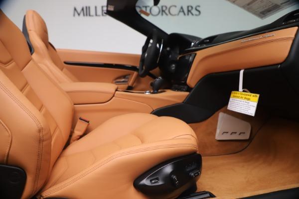 New 2019 Maserati GranTurismo Sport Convertible for sale $161,970 at Bentley Greenwich in Greenwich CT 06830 27