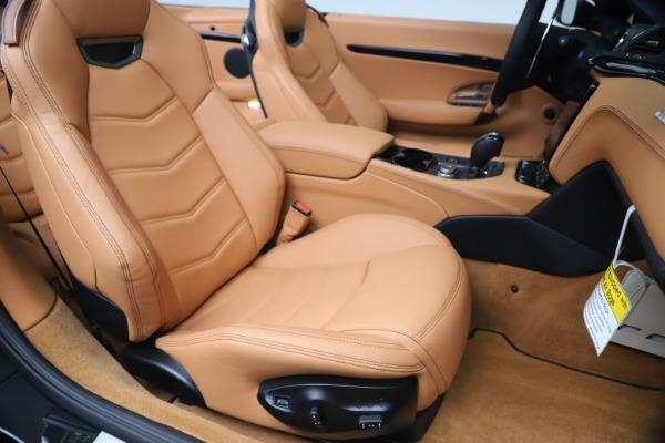 New 2019 Maserati GranTurismo Sport Convertible for sale $161,970 at Bentley Greenwich in Greenwich CT 06830 28
