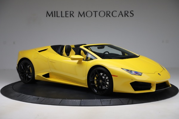 Used 2018 Lamborghini Huracan LP 580-2 Spyder for sale $203,900 at Bentley Greenwich in Greenwich CT 06830 10