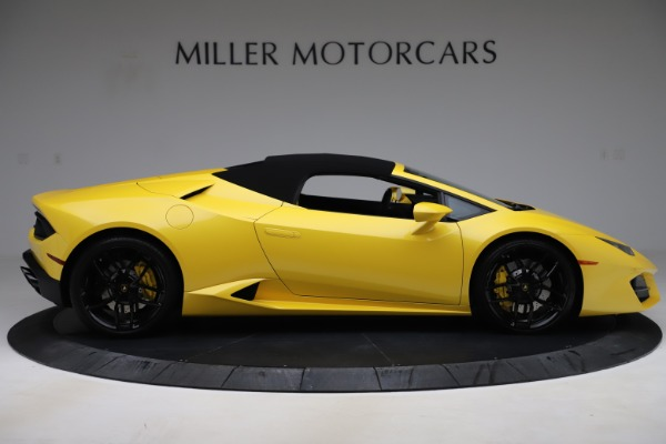 Used 2018 Lamborghini Huracan LP 580-2 Spyder for sale $203,900 at Bentley Greenwich in Greenwich CT 06830 16