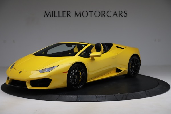 Used 2018 Lamborghini Huracan LP 580-2 Spyder for sale $203,900 at Bentley Greenwich in Greenwich CT 06830 2
