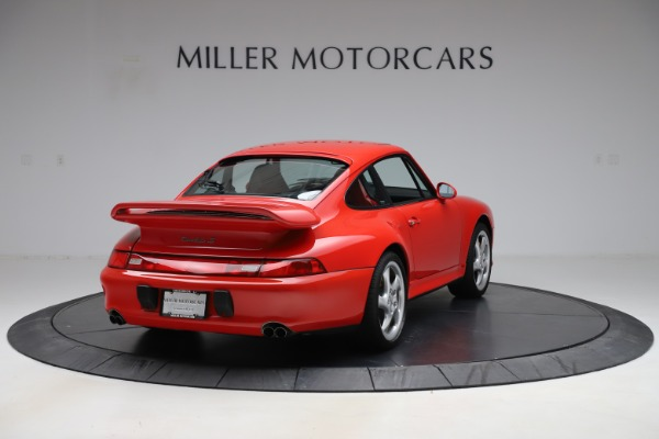 Used 1997 Porsche 911 Turbo S for sale $419,900 at Bentley Greenwich in Greenwich CT 06830 8