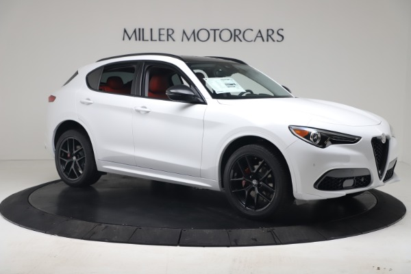New 2020 Alfa Romeo Stelvio Sport Q4 for sale Call for price at Bentley Greenwich in Greenwich CT 06830 10