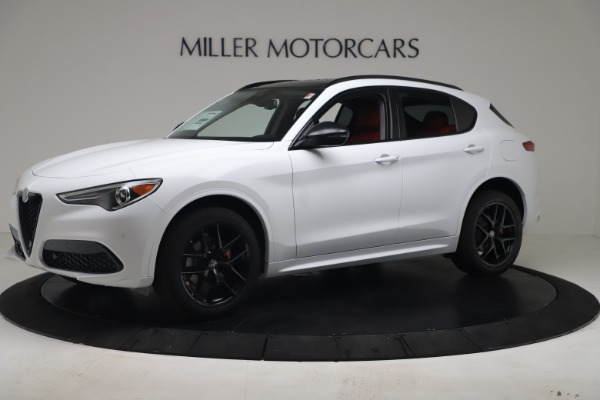 New 2020 Alfa Romeo Stelvio Sport Q4 for sale Call for price at Bentley Greenwich in Greenwich CT 06830 2
