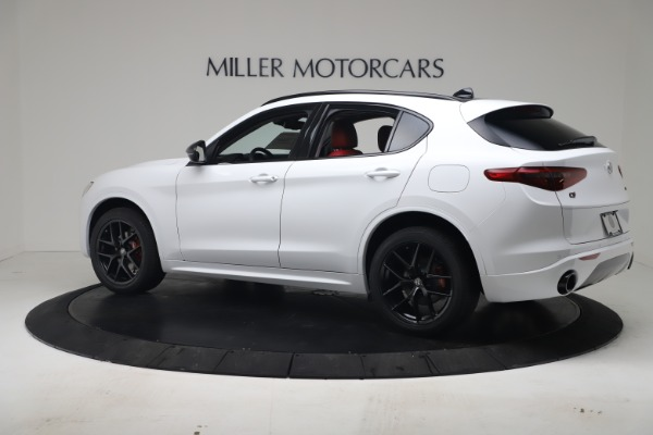 New 2020 Alfa Romeo Stelvio Sport Q4 for sale Call for price at Bentley Greenwich in Greenwich CT 06830 4