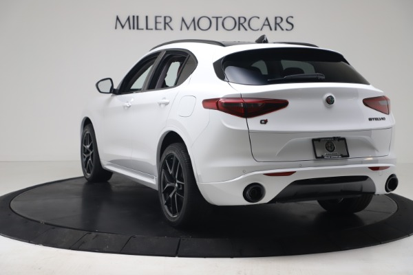 New 2020 Alfa Romeo Stelvio Sport Q4 for sale Call for price at Bentley Greenwich in Greenwich CT 06830 5