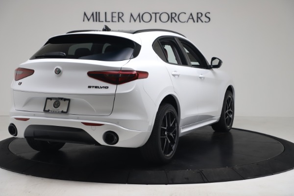 New 2020 Alfa Romeo Stelvio Sport Q4 for sale Call for price at Bentley Greenwich in Greenwich CT 06830 7