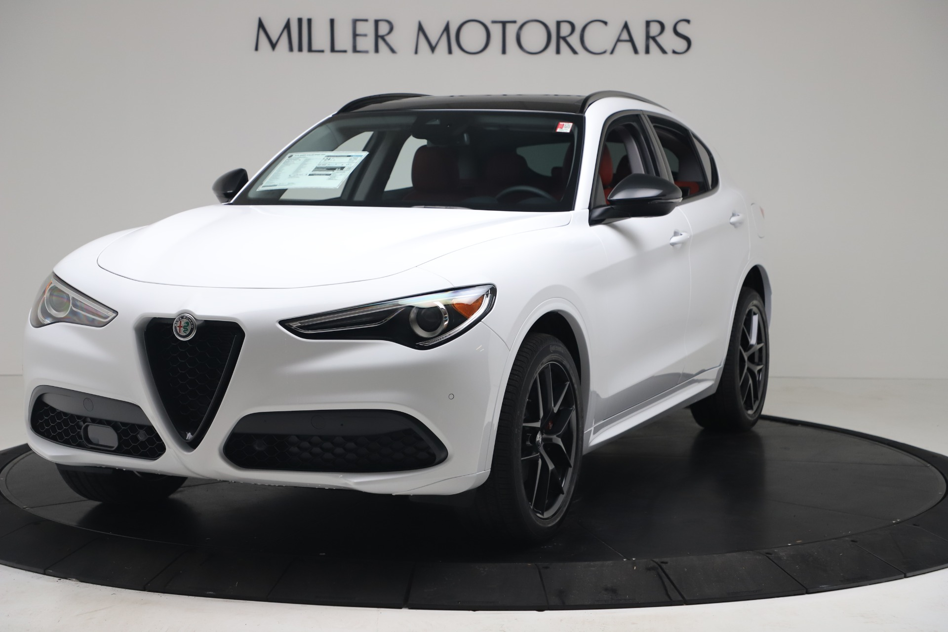 New 2020 Alfa Romeo Stelvio Sport Q4 for sale Call for price at Bentley Greenwich in Greenwich CT 06830 1
