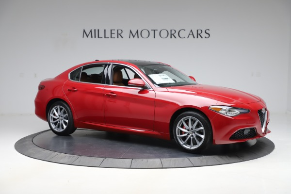 New 2020 Alfa Romeo Giulia Q4 for sale $45,740 at Bentley Greenwich in Greenwich CT 06830 10