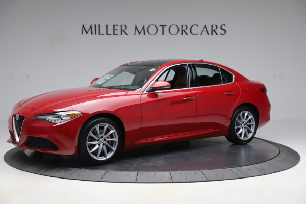 New 2020 Alfa Romeo Giulia Q4 for sale $45,740 at Bentley Greenwich in Greenwich CT 06830 2