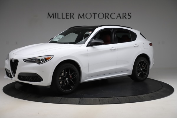 New 2020 Alfa Romeo Stelvio Ti Sport Q4 for sale Sold at Bentley Greenwich in Greenwich CT 06830 2