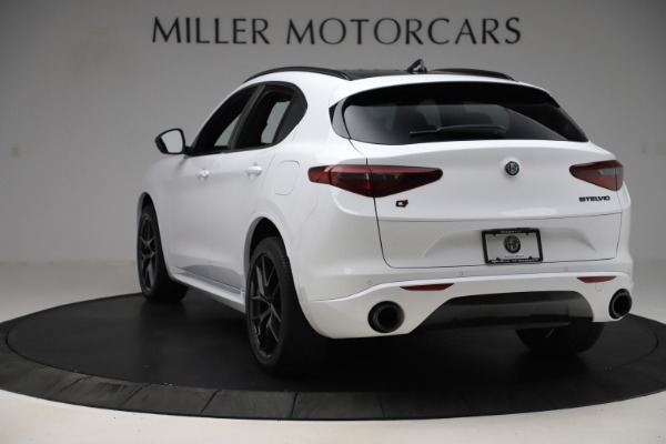 New 2020 Alfa Romeo Stelvio Ti Sport Q4 for sale Sold at Bentley Greenwich in Greenwich CT 06830 5