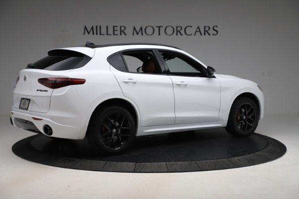 New 2020 Alfa Romeo Stelvio Ti Sport Q4 for sale Sold at Bentley Greenwich in Greenwich CT 06830 8