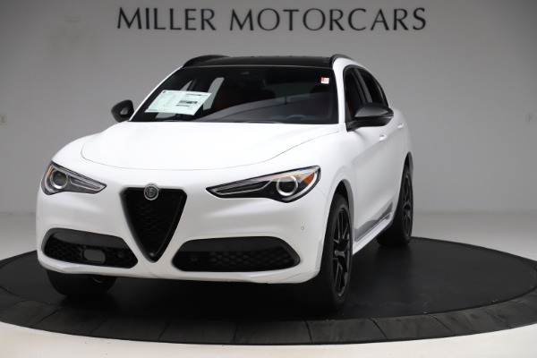 New 2020 Alfa Romeo Stelvio Ti Sport Q4 for sale Sold at Bentley Greenwich in Greenwich CT 06830 1