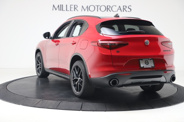 New 2020 Alfa Romeo Stelvio Q4 for sale Sold at Bentley Greenwich in Greenwich CT 06830 5