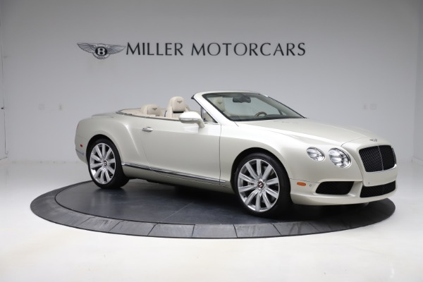 Used 2015 Bentley Continental GTC V8 for sale $109,900 at Bentley Greenwich in Greenwich CT 06830 10
